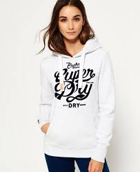 ice marl womens superdry osaka brand hoodie for sale uk