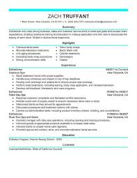 Sample Server Resume resume dermatology samples for physicians application letter