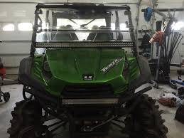 led light bar pic u0027s kawasaki teryx forum