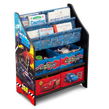 Disney Toy Organizer Delta Children Book U0026 Toy Organiser Disney Pixar Cars Buy At