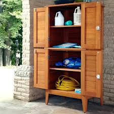 small outdoor plastic storage cabinet outdoor wood storage cabinets with doors tall and shelves