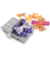 hair bow maker darice bowdabra hair bow kit joann