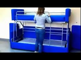 Sofa Bunk Bed Amazing Sofa To Bunk Bed Transformation