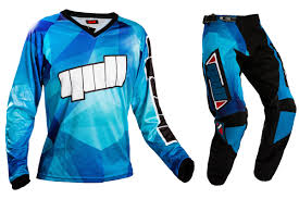 blue motocross boots motocross gear combos gull mx motocross gear