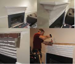 Fireplace Mantel Shelf Pictures by Installing A Custom Fireplace Mantel Extreme How To