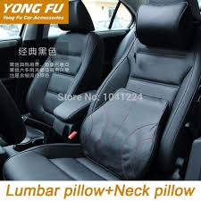 car covers car pillow lumbar back support cushion genuine cowhide