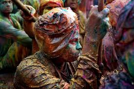 the meaning behind the many colors of india u0027s holi festival