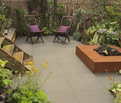Modern Patio Italian Porcelain Paving Contemporary Garden - Italian backyard design