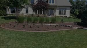home menomonee falls landscaping fertilization and concrete edging