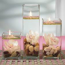 Floating Candle Centerpieces by Floating Candle Centerpiece