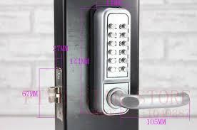 Keypad Interior Door Lock Free Shipping European Design Mechanical Password Interior Door