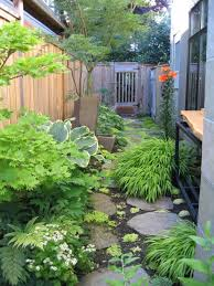 Small Narrow Backyard Ideas Extraordinary Narrow Landscaping Ideas Images Best Ideas