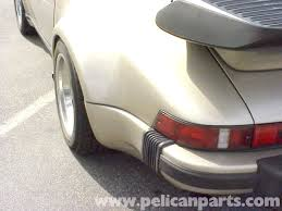 porsche 930 whale tail porsche 911 updating to the turbo look 911 1965 89 930 turbo