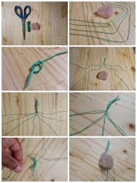 necklace stone diy images Diy macrame stone necklace stone craft and crystals jpg