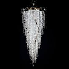 Art Glass Chandeliers Flame 700x1600 Artglass Cz