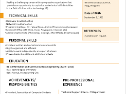 sle resume for college students philippines how to write formal resume cover letters for free letter job email