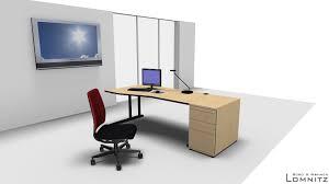 Standcontainer Arbeitsplatz Büroarbeit Schreibtisch Ergonomie Lomnitz Berlin