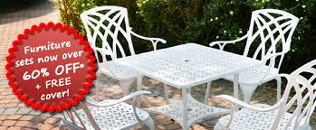 Garden Bench Sale Uk Buy One Of These Alium Garden Furniture Sets And Get A Free