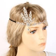 great gatsby hair accessories great gatsby headband bridal hair accessories rhinestone beaded