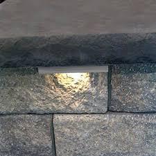 retaining wall lights under cap hardscape lighting wallter outdoor lighting amleo com