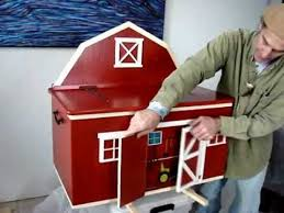 Free Woodworking Plans Toy Barn by Building A Barn Toy Chest U0027 Youtube