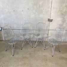 set of four eames herman miller eiffel chairs u2013 urbanamericana
