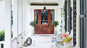 What Is A Rambler Style Home South Carolina River House Tour Coastal Living