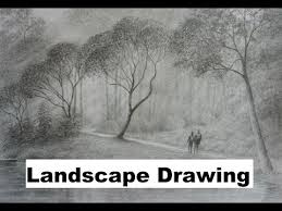 How To Draw Landscapes by Learn How To Draw And Paint Drawing Painting And Digital Art