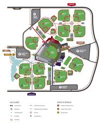 Arizona Spring Training Map by Srf Complex