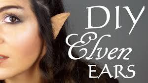Elven Halloween Costume Diy Elven Elf Ears
