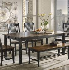 industrial dining room tables kitchen table dark wood dining table reclaimed wood and metal