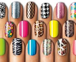 our favourite easy at home nail art beauty