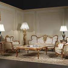 italian classic luxury wooden living room furniture day