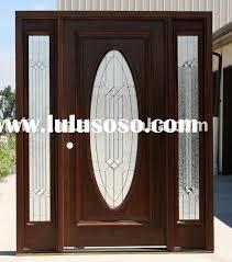 Exterior Wood Doors Lowes Homeofficedecoration Solid Wood Exterior Doors Lowes