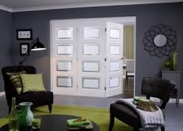 Folding Sliding Doors Interior White Primed Folding Sliding Doors From Doors And More