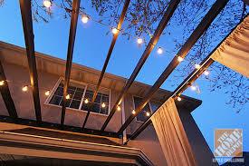 Outdoor Pergola Lights by Pergola Design Ideas Lights For Pergola Deck Decorating Ideas