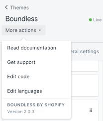 shopify themes documentation add theme info theme editor shopify help center
