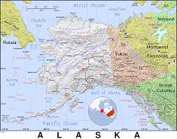Map Of Russia And Alaska by Ak Alaska Public Domain Maps By Pat The Free Open Source