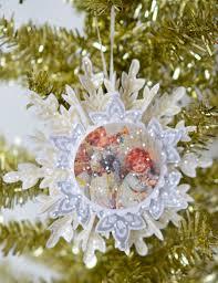 lori hairston vintage snowflakes christmas ornament ideas