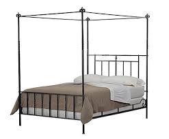 Iron Canopy Bed Umbria Low Foot Canopy Bed Charles P Rogers Beds Direct