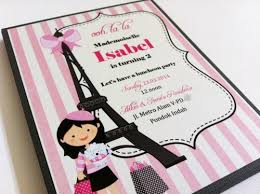 eiffel tower invitations themed eiffel tower party invitations in pink and gray