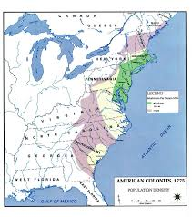 colonial america map enduringvisions 2 3 freedom and slavery in late colonial america