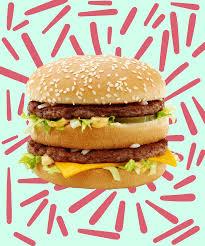 Mcdonalds Invitation Card Mcdonalds Big Mac New Size Two New Burgers