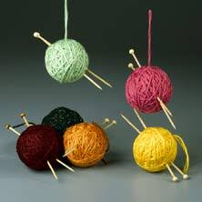 ornament for knitters favecrafts