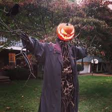 scarecrow halloween decorations pumpkin head scarecrow image gallery hcpr