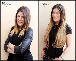 clip in hair extensions before and after permanent hair extensions rivaji your fashion satement