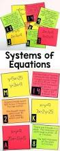 Algebra 8th Grade Worksheets 16 Best Systems Of Equations U0026 Inequalities Images On Pinterest