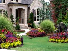 Ideas For Front Gardens Ideas Awesome Front Garden Design For Minimalist Home Stock Photos