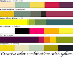 yellow color schemes how to wear yellow different ways and color combinations colors that