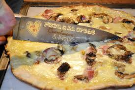 cuisiner cepes frais plancha pizza crème chignons et noix kaderick